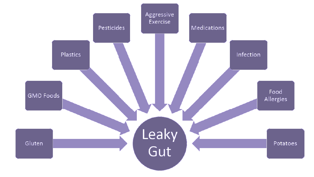 Leaky Gut chart